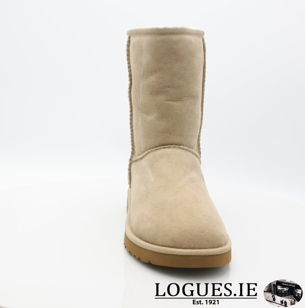 UGGS WMS CLASSIC SHORT 5825-Ladies-UGGS FOOTWEAR-SAND-38 EU 5.5UK 7 US-Logues Shoes