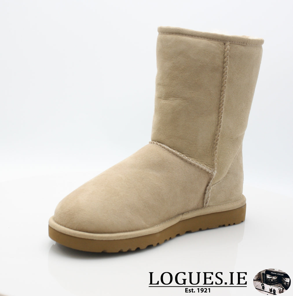UGGS WMS CLASSIC SHORT 5825-Ladies-UGGS FOOTWEAR-SAND-39 EU 6.5UK 8 US-Logues Shoes