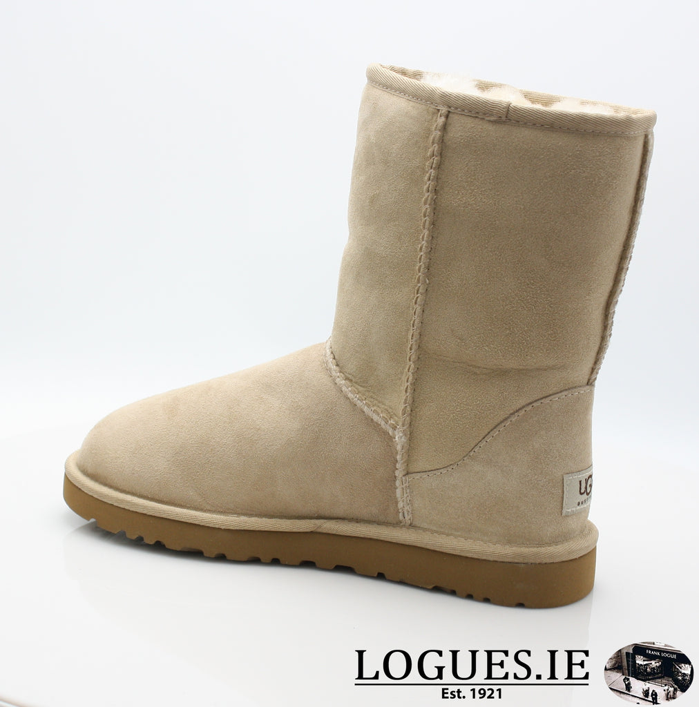UGGS WMS CLASSIC SHORT 5825-Ladies-UGGS FOOTWEAR-SAND-40 EU 7 .5UK 9 US-Logues Shoes