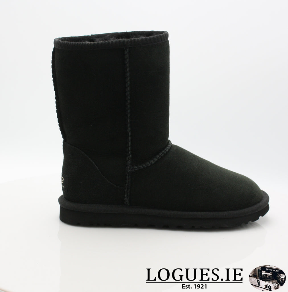 UGGS WMS CLASSIC SHORT 5825-Ladies-UGGS FOOTWEAR-BLACK-36 EU 3 .5uk 5 us-Logues Shoes
