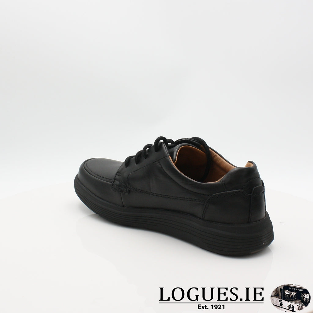 Un Abode Ease  CLARKSMensLogues ShoesBlack Leather / 7.5 UK / H