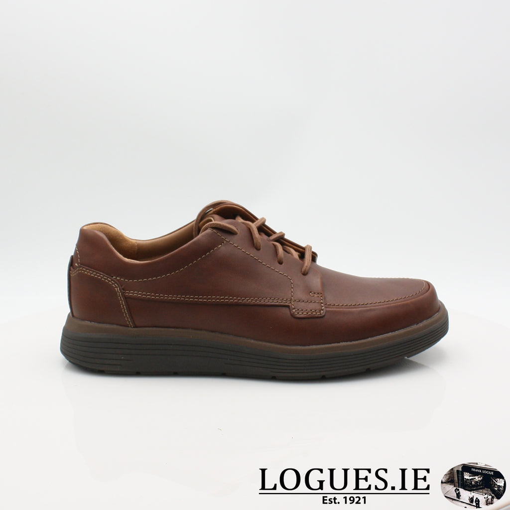 Un Abode Ease  CLARKSMensLogues ShoesDark Tan Lea / 6 UK / H