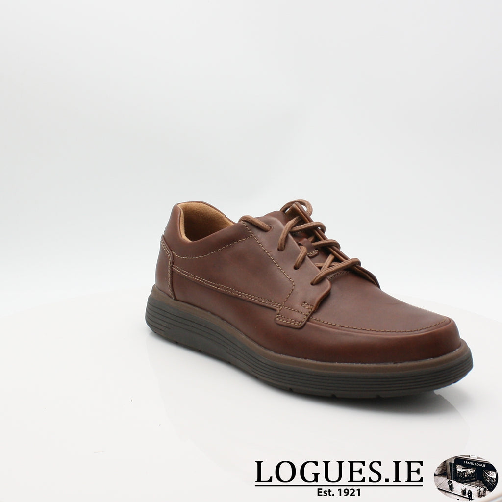 Un Abode Ease  CLARKSMensLogues ShoesDark Tan Lea / 6.5 UK / H