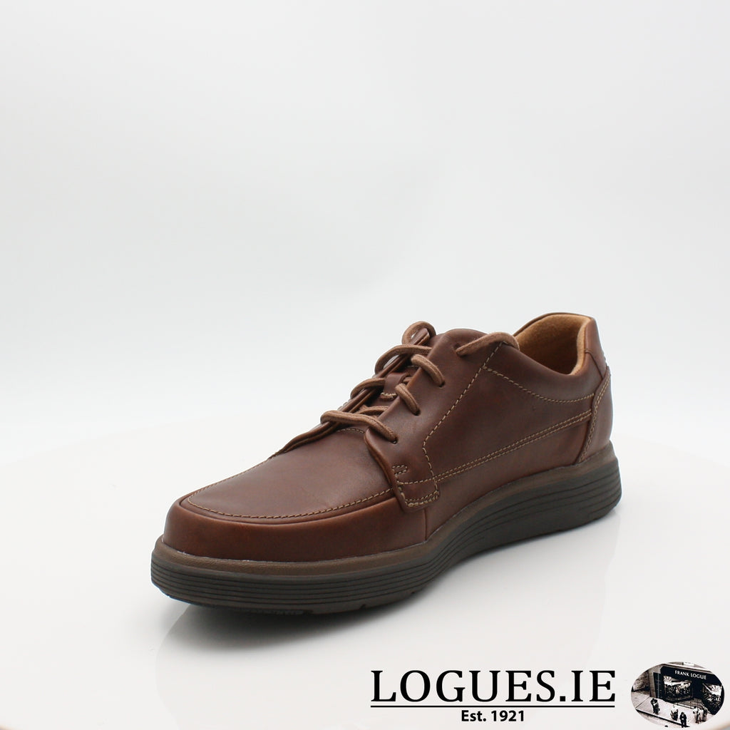 Un Abode Ease  CLARKSMensLogues ShoesDark Tan Lea / 7.5 UK / H