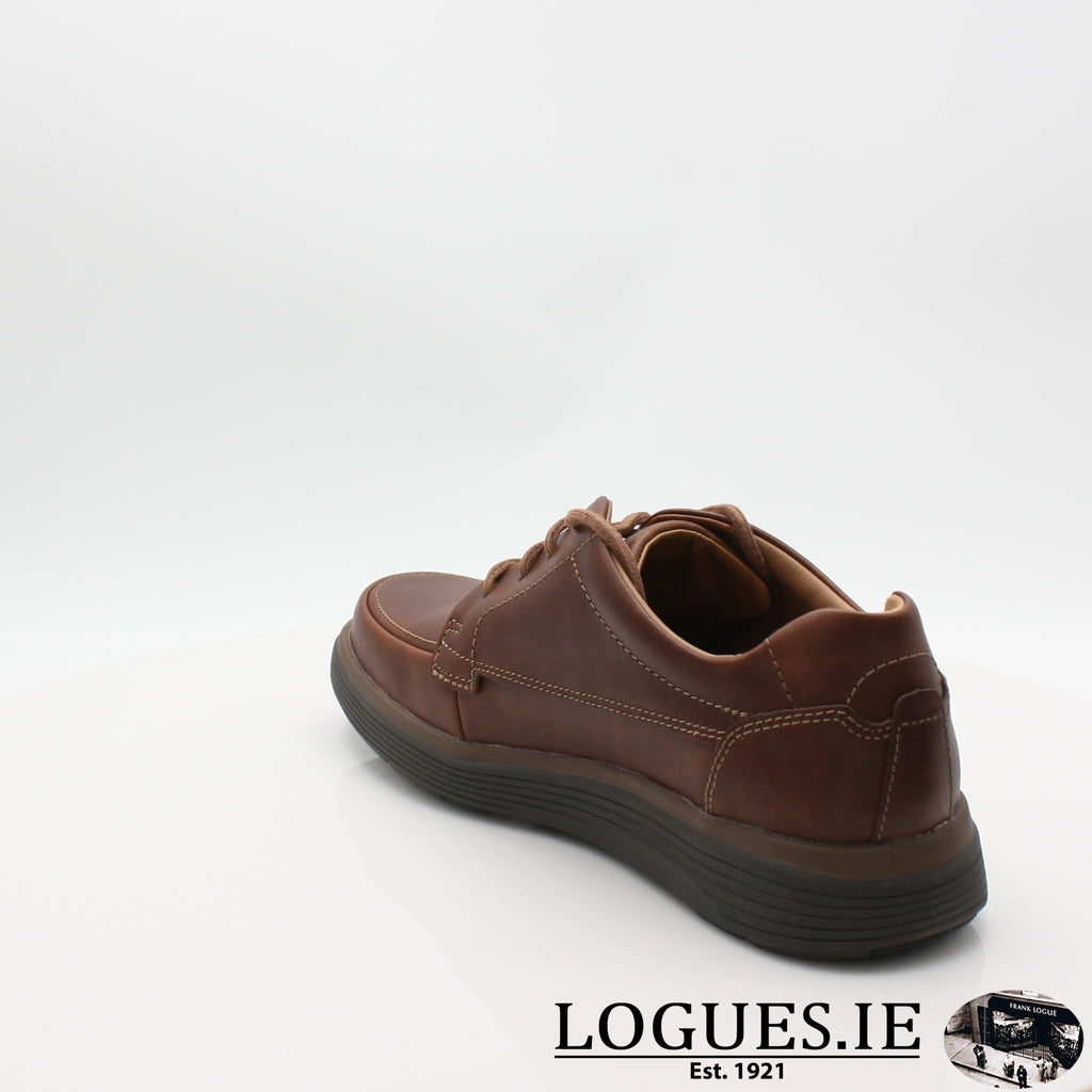 Un Abode Ease  CLARKSMensLogues ShoesDark Tan Lea / 8.5 UK / H