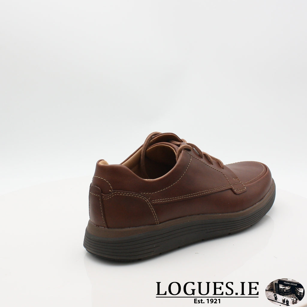 Un Abode Ease  CLARKSMensLogues ShoesDark Tan Lea / 9.5 UK / H