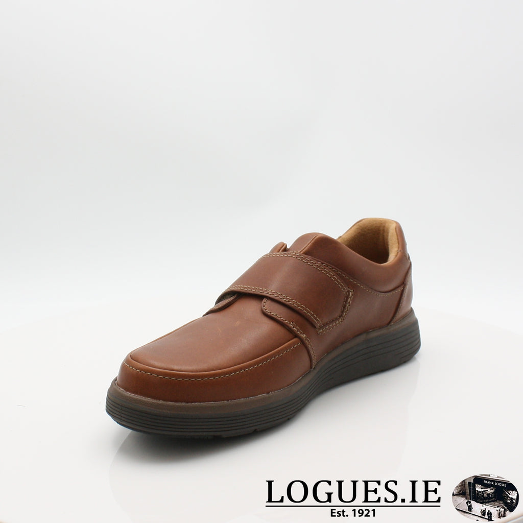 Un Abode Strap  CLARKSMensLogues ShoesDark Tan Lea / 7.5 UK / H
