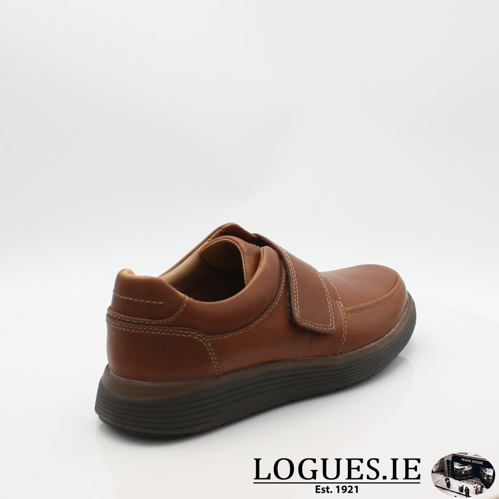 Un Abode Strap  CLARKSMensLogues ShoesDark Tan Lea / 9.5  UK / H