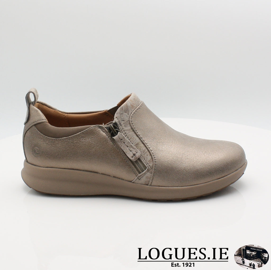 Un Adorn Zip CLARKS 20, Ladies, Clarks, Logues Shoes - Logues Shoes.ie Since 1921, Galway City, Ireland.
