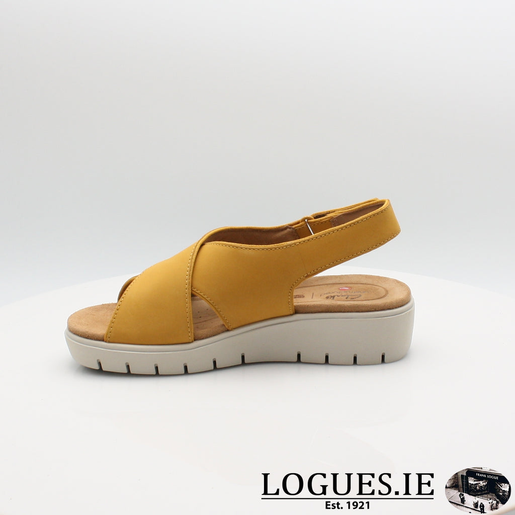 Un Karely Sun CLARKS, Ladies, Clarks, Logues Shoes - Logues Shoes.ie Since 1921, Galway City, Ireland.