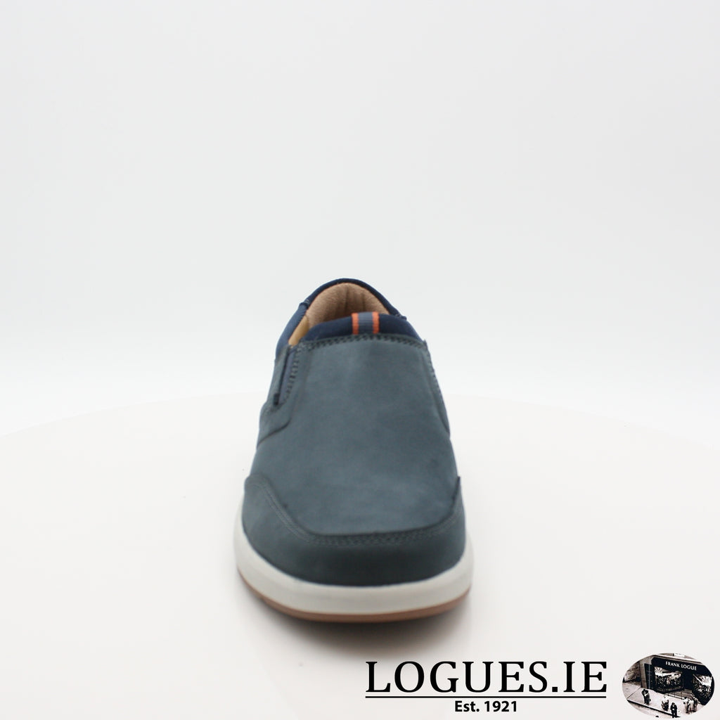 Un Trail Step CLARKS 19-Mens-Clarks-Navy Nubuck-060-G-Logues Shoes