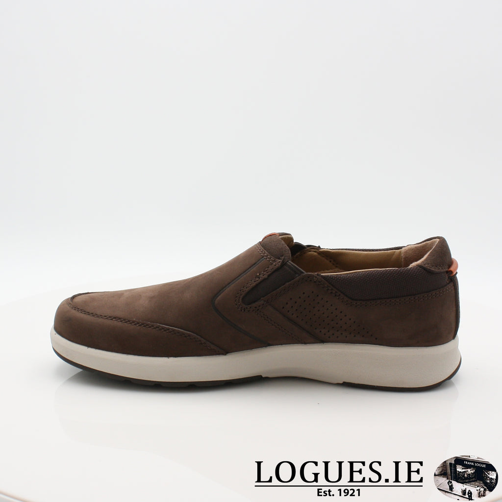 Un Trail Step CLARKS 19-Mens-Clarks-Brown Nubuck-060-G-Logues Shoes