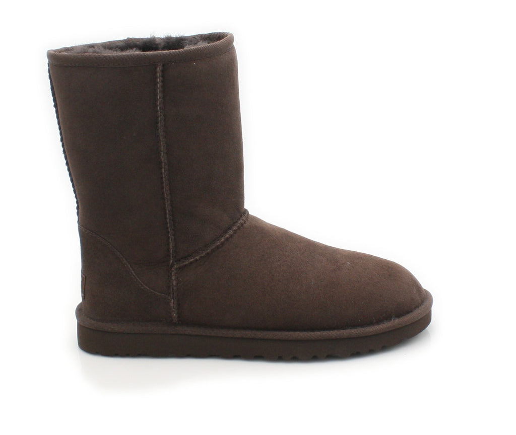 UGGS WMS CLASSIC SHORT 5825-Ladies-UGGS FOOTWEAR-CHOCOLATE-37 EU4.5 UK 6 US-Logues Shoes