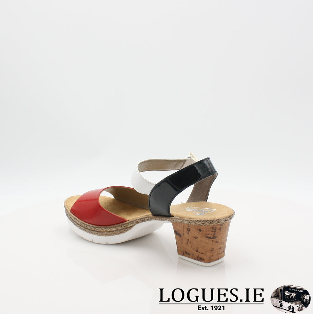V2953 RIEKER 19LadiesLogues Shoes