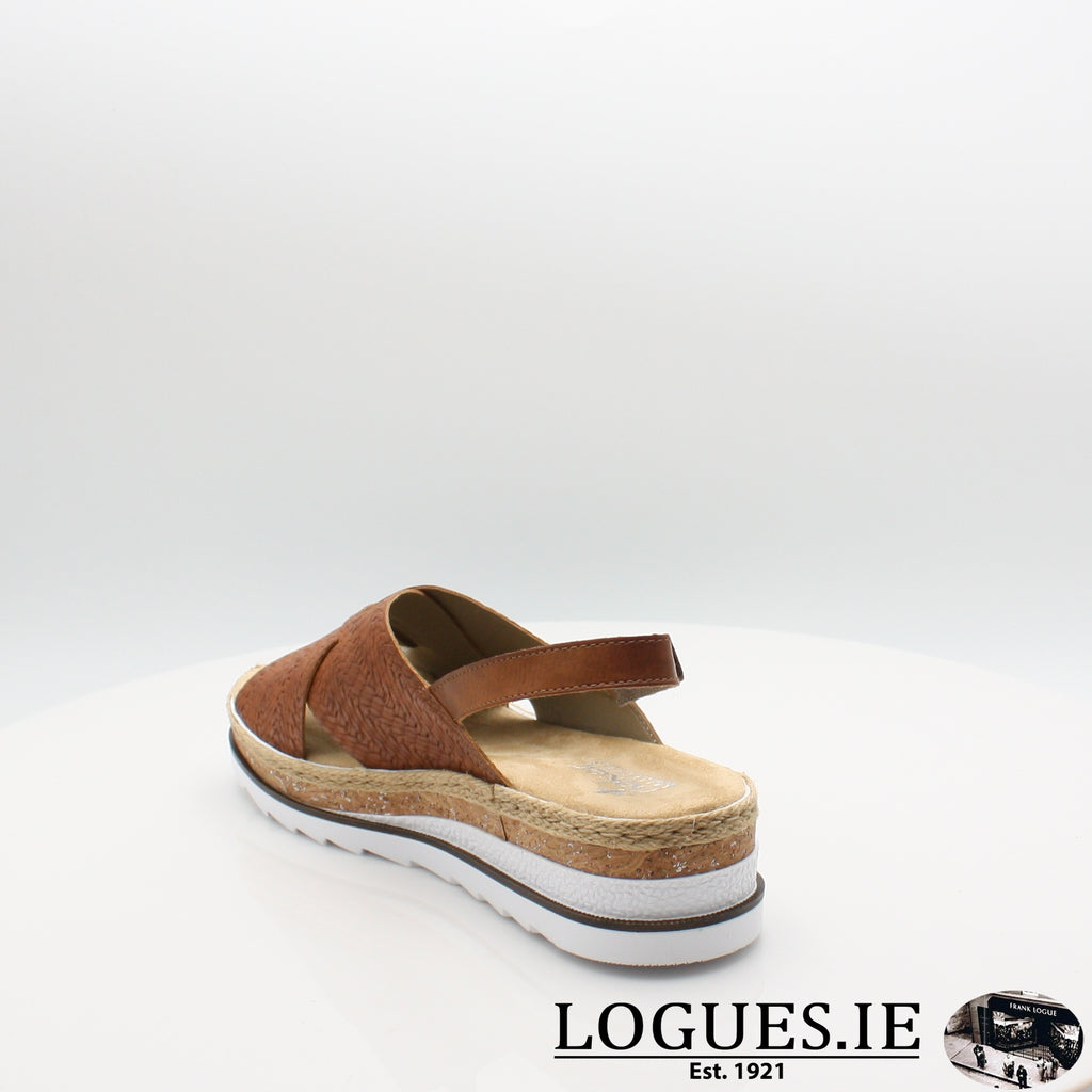 V79B4 Rieker 20, Ladies, RIEKIER SHOES, Logues Shoes - Logues Shoes.ie Since 1921, Galway City, Ireland.