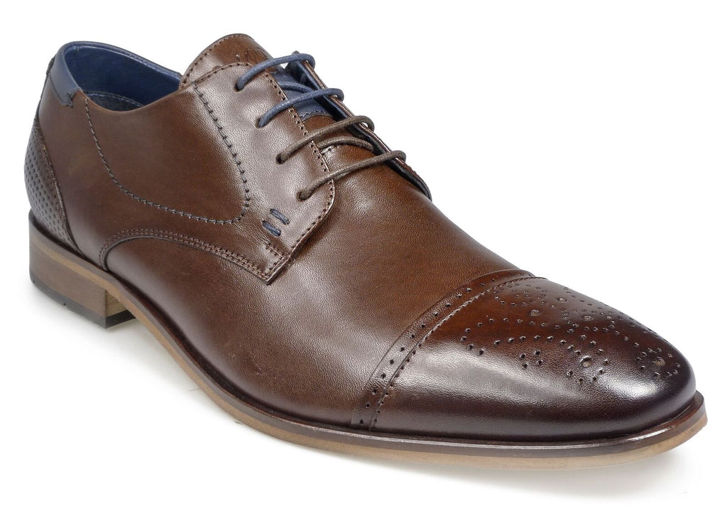 VERMONT POD AW17MensLogues ShoesBROWN / 50  = 15 UK