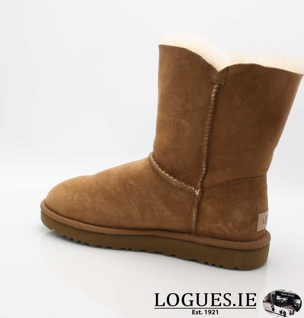 UGGS BAILEY BUTTON 2 1016226-Ladies-UGGS FOOTWEAR-CHESTNUT-8 US 6.5 UK-Logues Shoes
