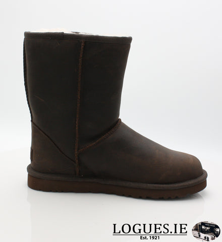 UGGS W CLASSIC SHORT 1005093LadiesLogues ShoesBLACK / US 5
