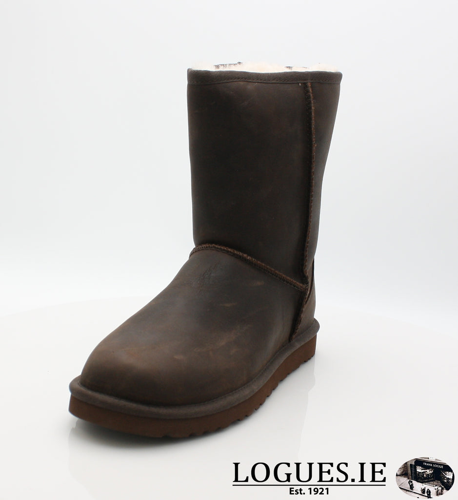 UGGS W CLASSIC SHORT 1005093LadiesLogues ShoesBLACK / US 6 = 4.5 uk