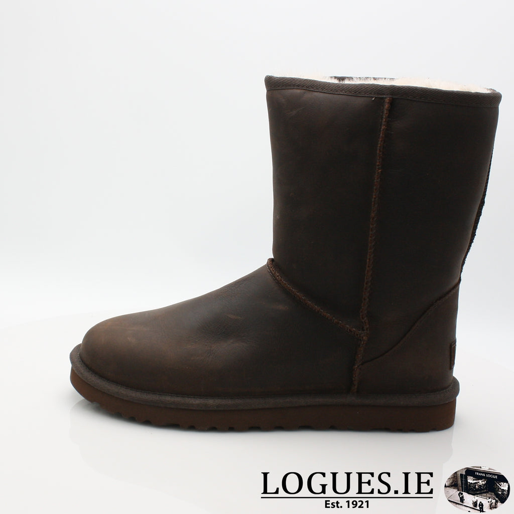 UGGS W CLASSIC SHORT 1005093LadiesLogues ShoesBLACK / US 7 = 5.5 uk
