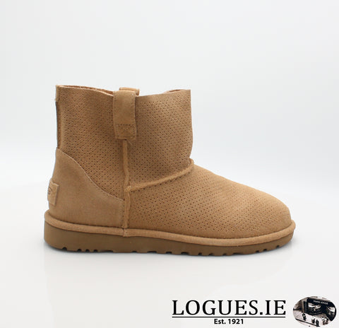 UGGS MINI PREF CLASSIC 1016852LadiesLogues ShoesTAWNY / 5 US =3.5 UK