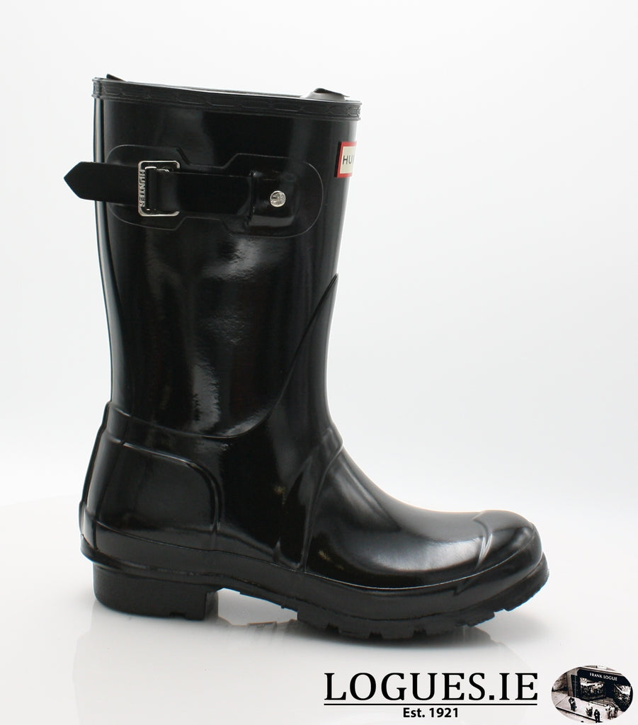 WFS1000RGL ORG GLOSS SHT-Ladies-hunter boot ltd-BLACK-3-Logues Shoes