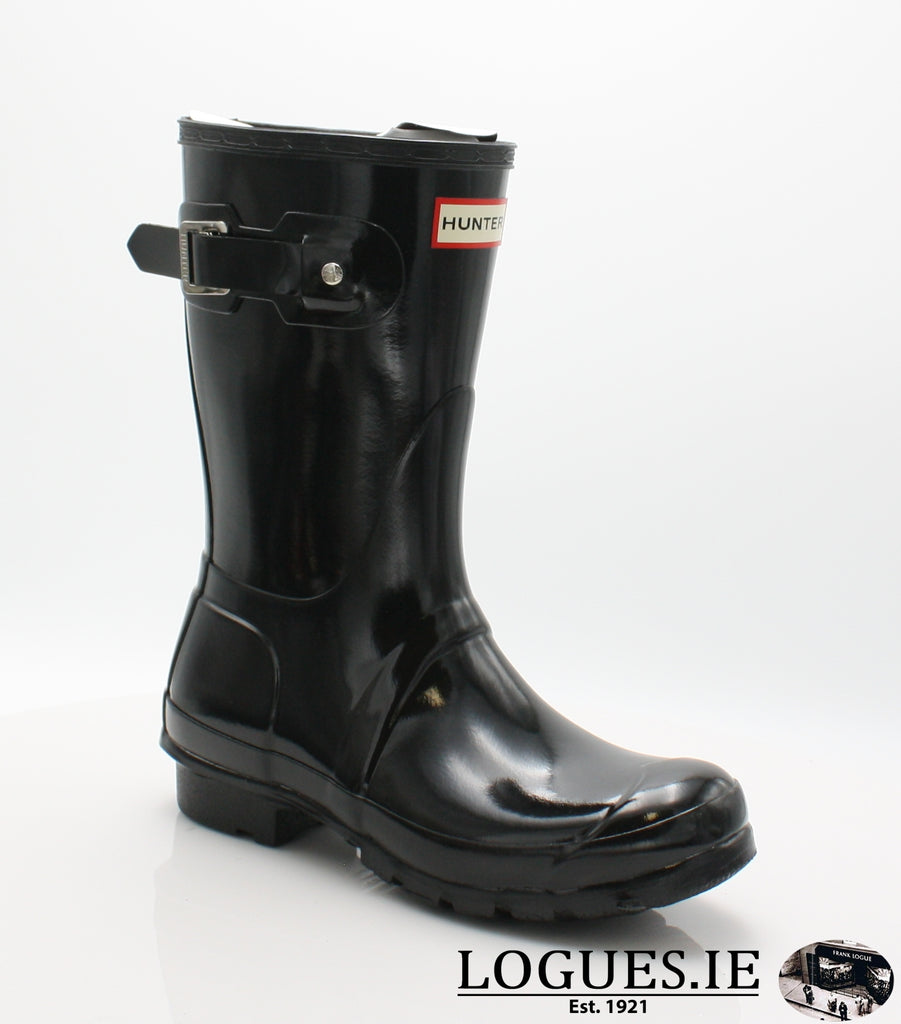 WFS1000RGL ORG GLOSS SHT-Ladies-hunter boot ltd-BLACK-4-Logues Shoes