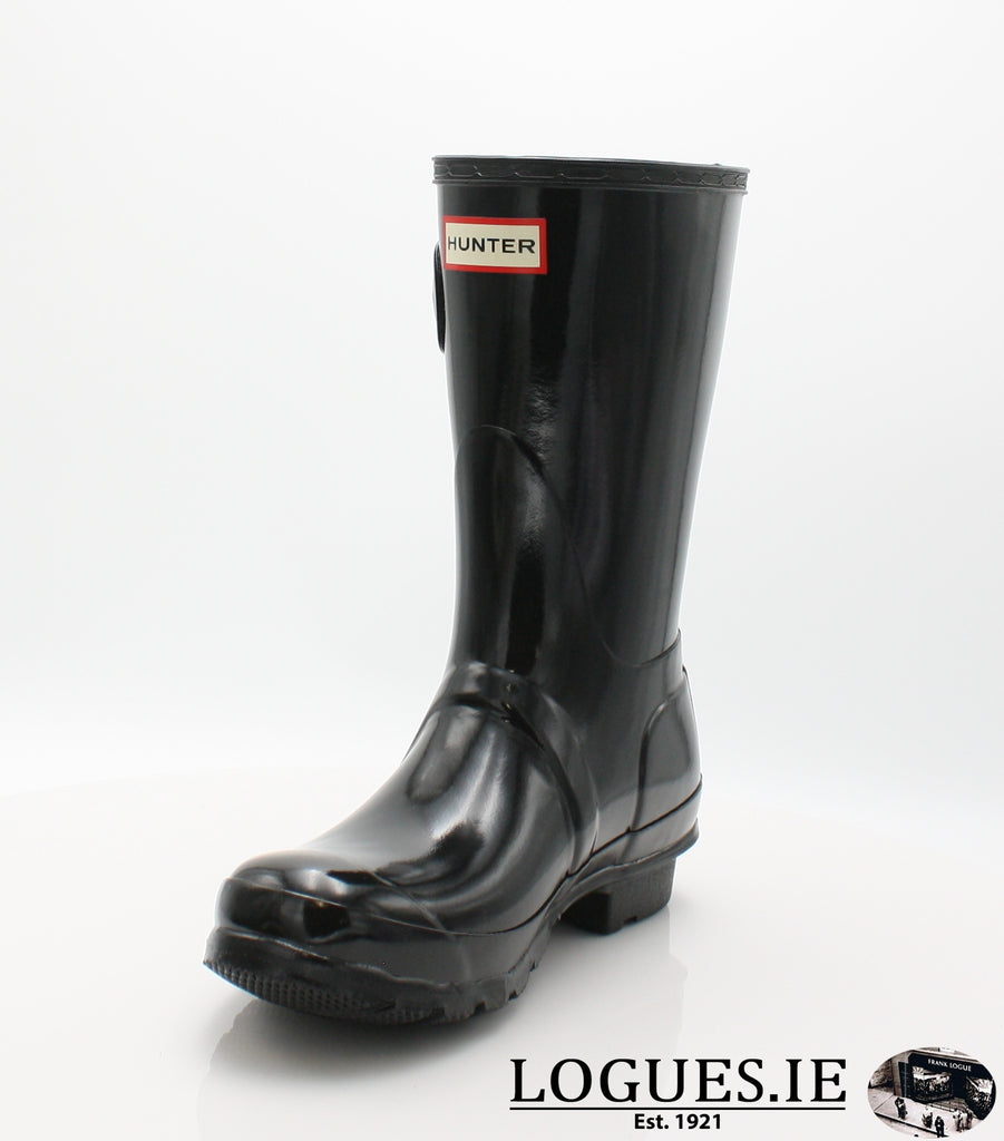 WFS1000RGL ORG GLOSS SHT-Ladies-hunter boot ltd-BLACK-6-Logues Shoes