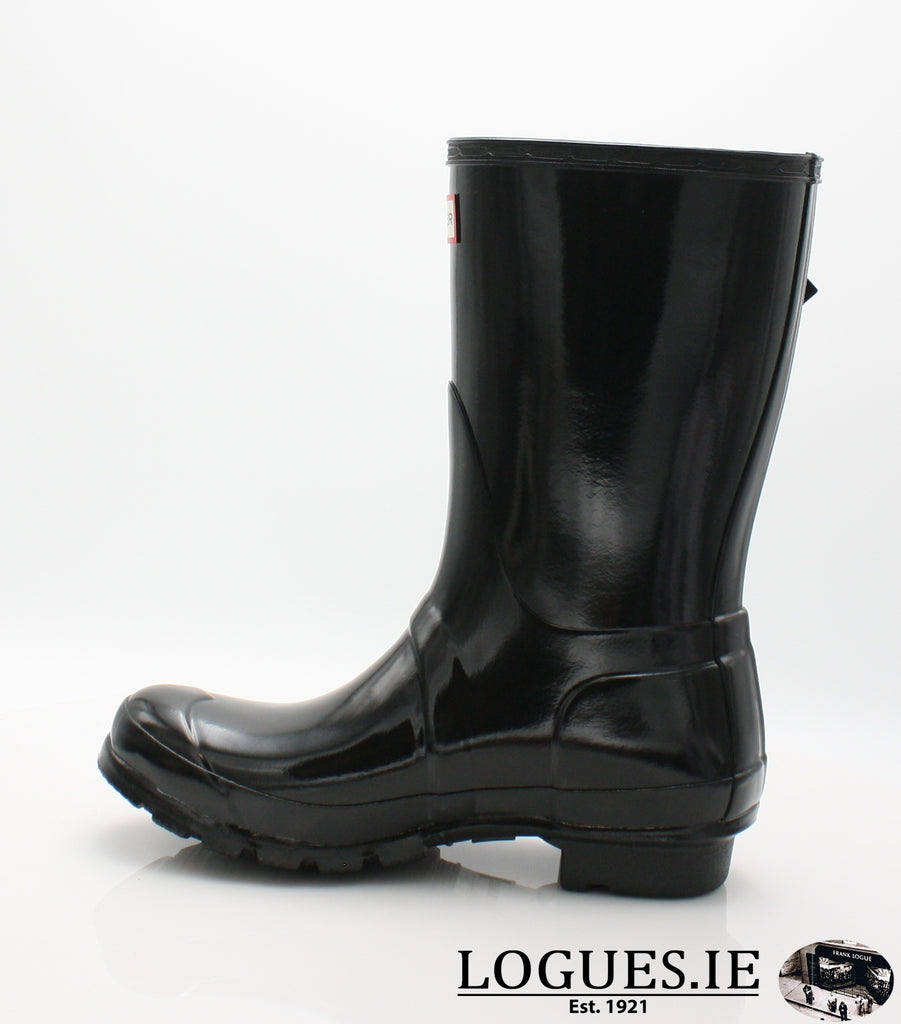 WFS1000RGL ORG GLOSS SHT-Ladies-hunter boot ltd-BLACK-7-Logues Shoes