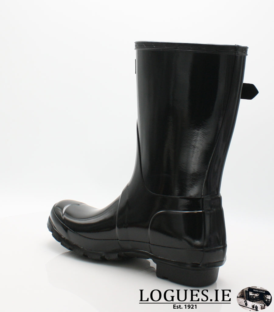 WFS1000RGL ORG GLOSS SHT-Ladies-hunter boot ltd-BLACK-8-Logues Shoes