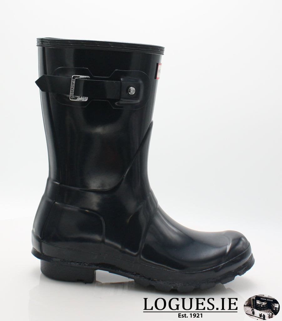 WFS1000RGL ORG GLOSS SHT-Ladies-hunter boot ltd-NAVY-3-Logues Shoes