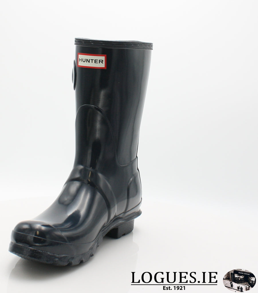 WFS1000RGL ORG GLOSS SHT-Ladies-hunter boot ltd-NAVY-6-Logues Shoes