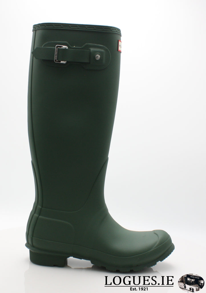 WFT1000RMA HUNTER-Ladies-hunter boot ltd-HUNTER GREEN-36 - 43-Logues Shoes