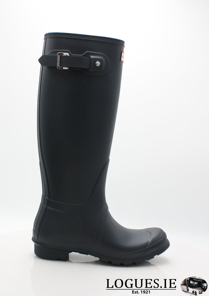 w23499 ORg t wft1000rma-Ladies-hunter boot ltd-NAVY-3-Logues Shoes