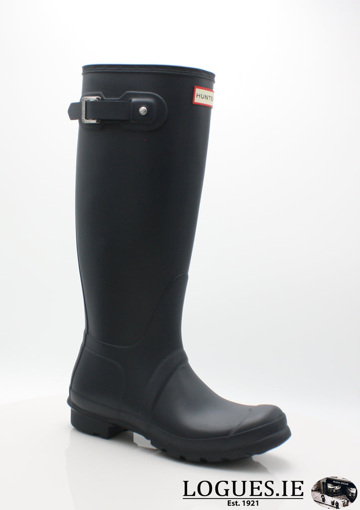 w23499 ORg t wft1000rma-Ladies-hunter boot ltd-NAVY-4-Logues Shoes
