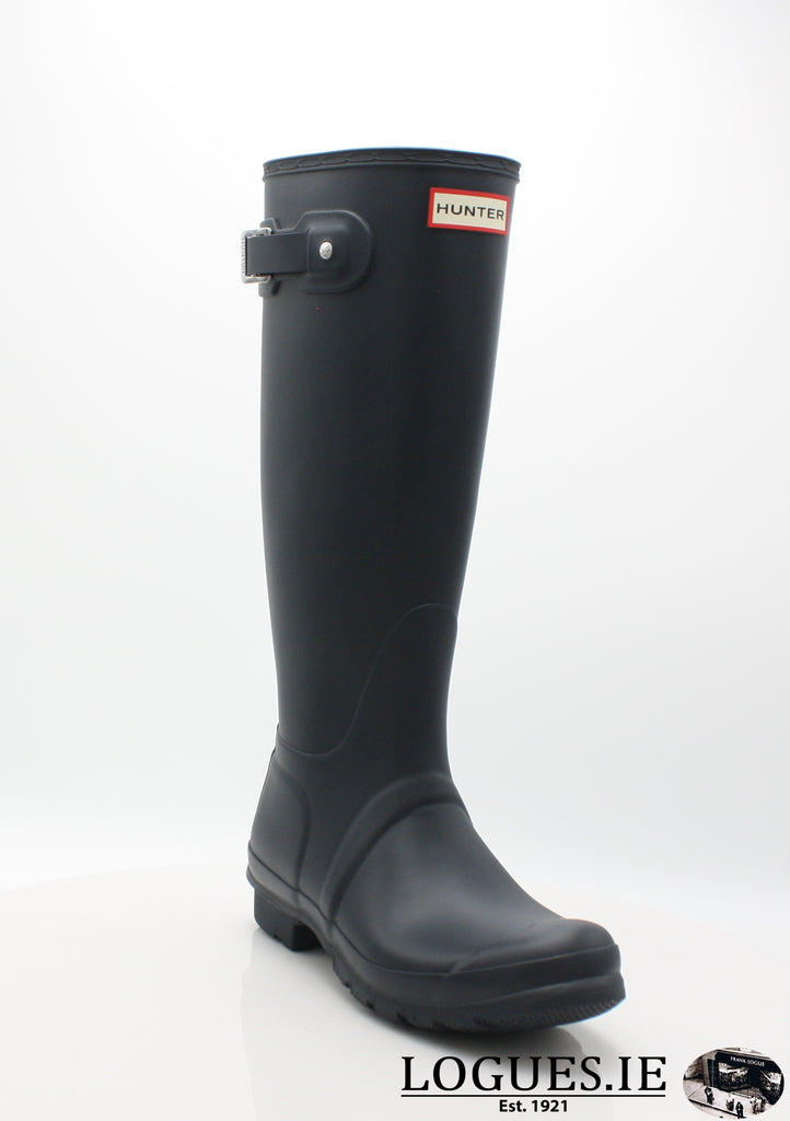 w23499 ORg t wft1000rma-Ladies-hunter boot ltd-NAVY-5-Logues Shoes