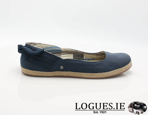 UGGS PERRIE S/S 16LadiesLogues ShoesNAVY / 6 - 10