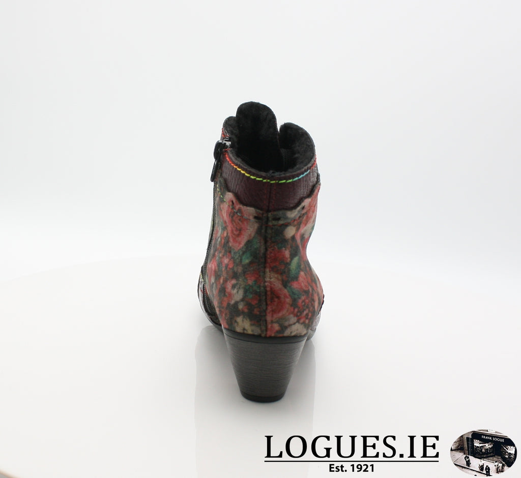 RKR Y7213LadiesLogues Shoeswine/bordeaux/mul 34 / 42