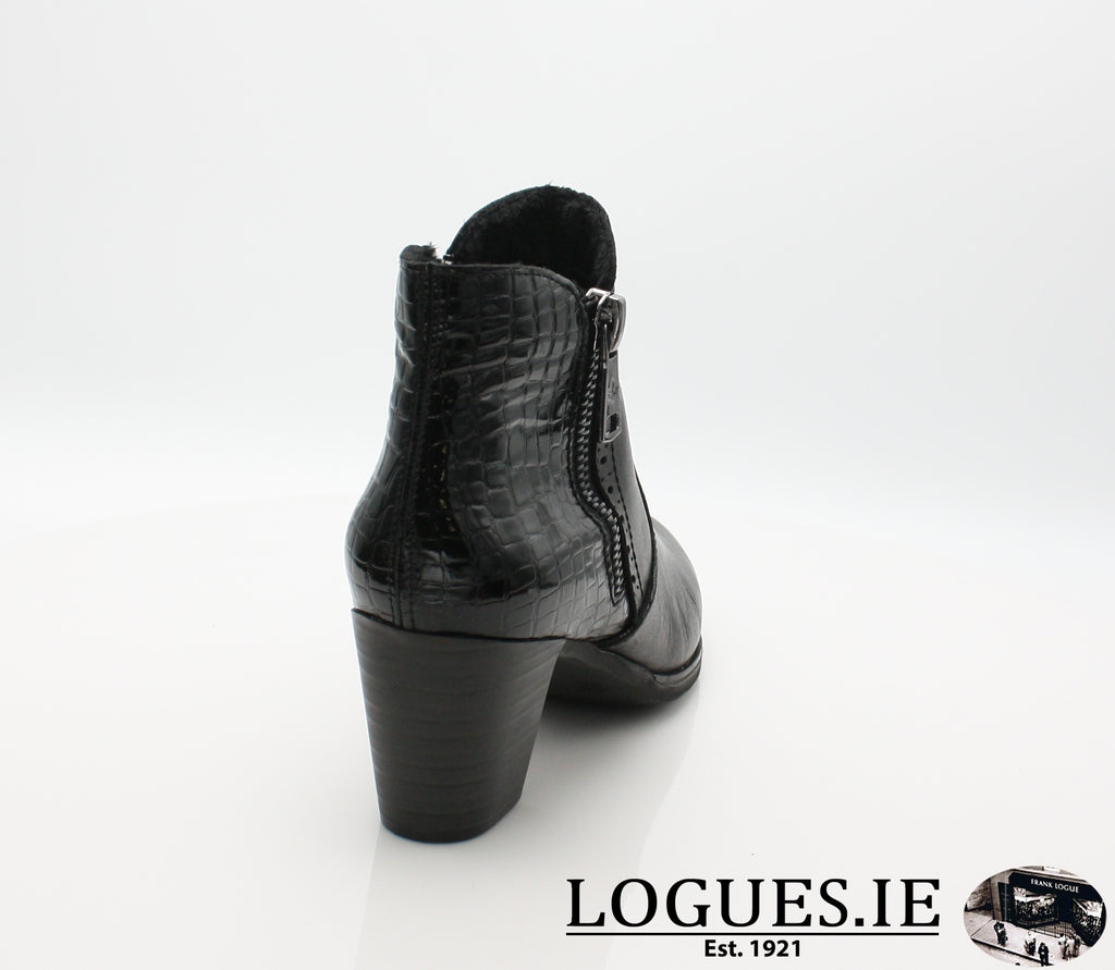 RKR Y8965LadiesLogues Shoesschwarz/nero 00 / 42