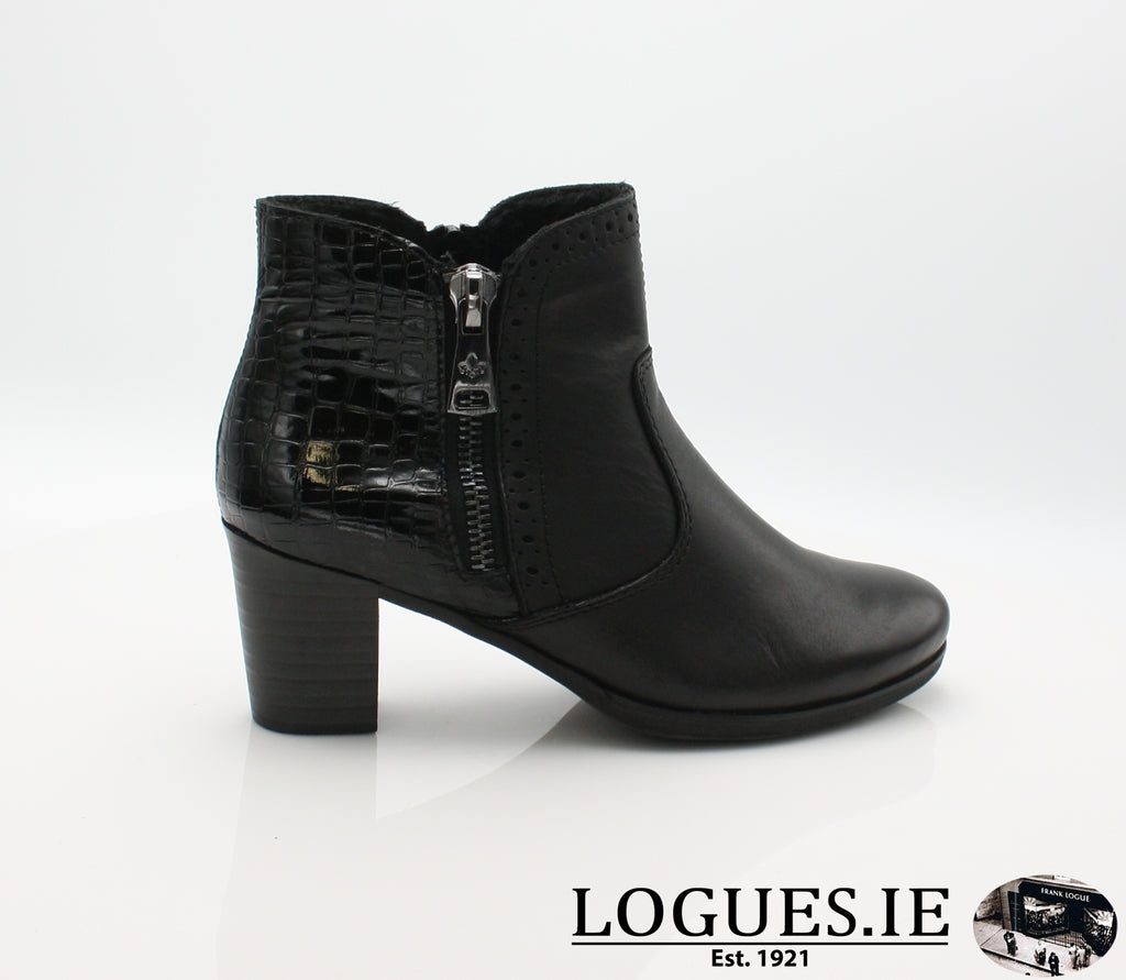 RKR Y8965LadiesLogues Shoesschwarz/nero 00 / 36