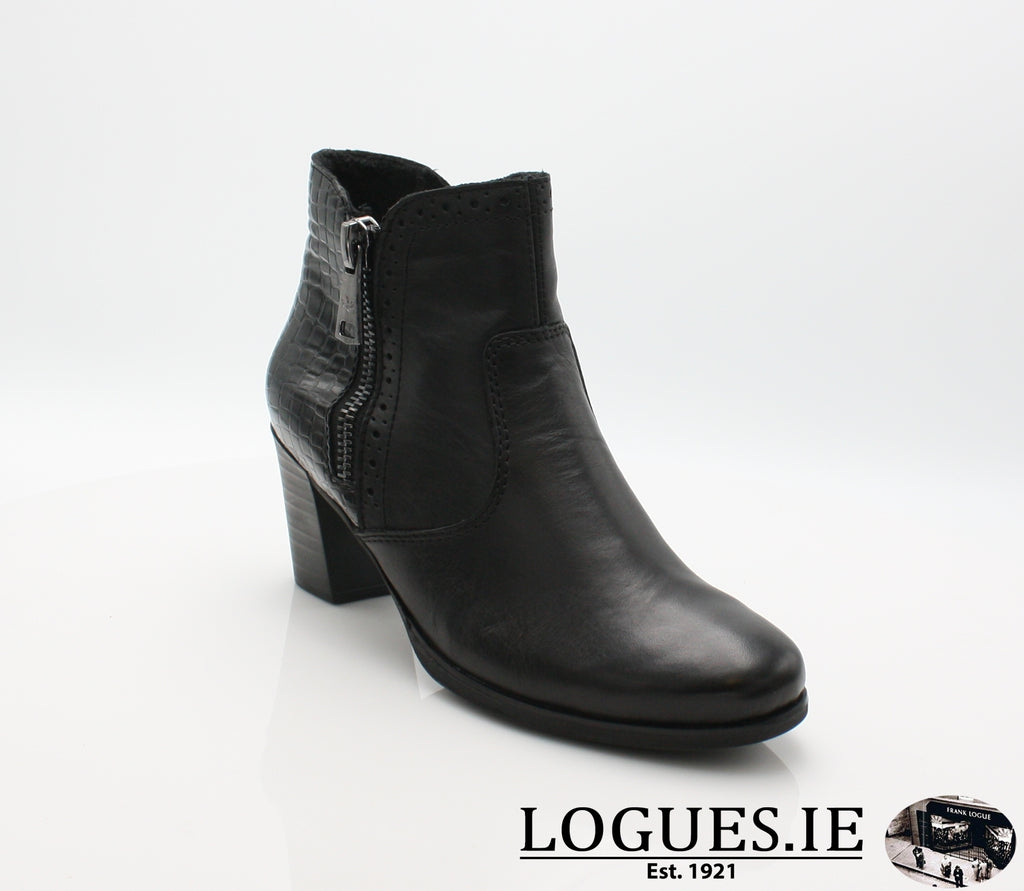 RKR Y8965LadiesLogues Shoesschwarz/nero 00 / 37
