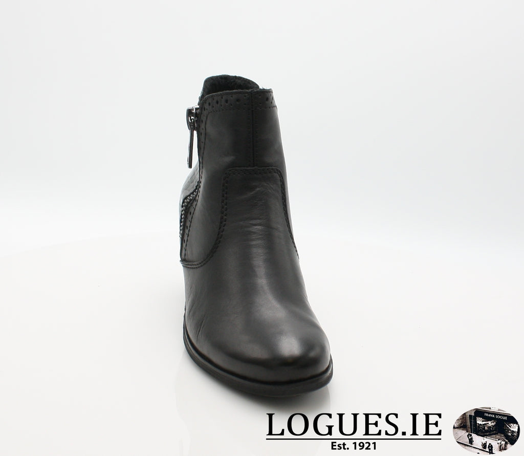 RKR Y8965LadiesLogues Shoesschwarz/nero 00 / 38