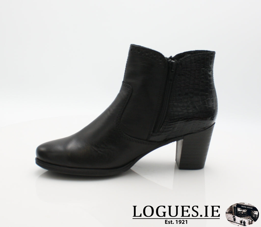RKR Y8965LadiesLogues Shoesschwarz/nero 00 / 40
