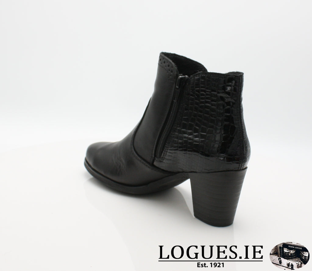 RKR Y8965LadiesLogues Shoesschwarz/nero 00 / 41