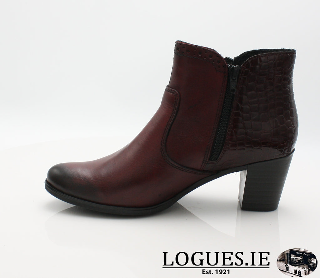 RKR Y8965-Ladies-RIEKIER SHOES-chianti/bordeaux 35-41-Logues Shoes
