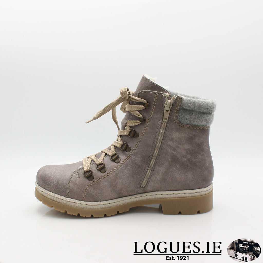 Y9430 RIEKER 19BOOTSLogues Shoes