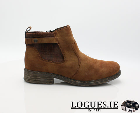 RKR Z2186LadiesLogues Shoesfuchs/sherry 24 / 36