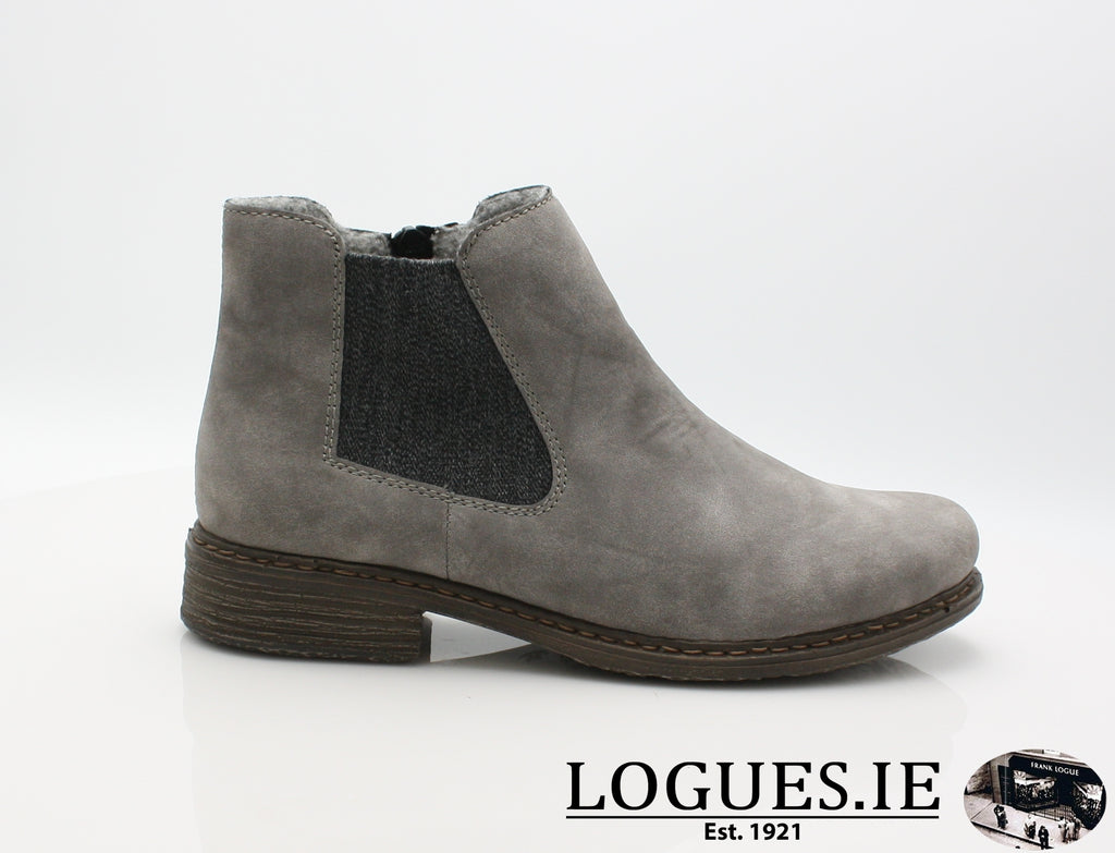 RKR Z2194LadiesLogues Shoesgrey/anthrazit 40 / 36