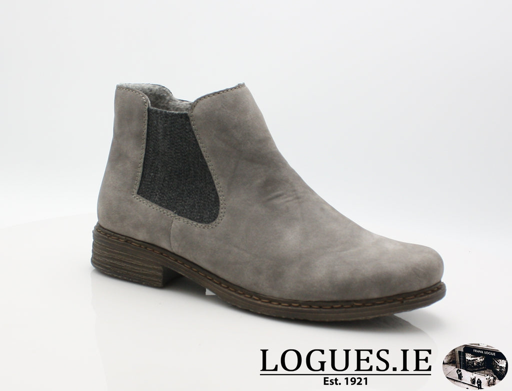 RKR Z2194LadiesLogues Shoesgrey/anthrazit 40 / 37