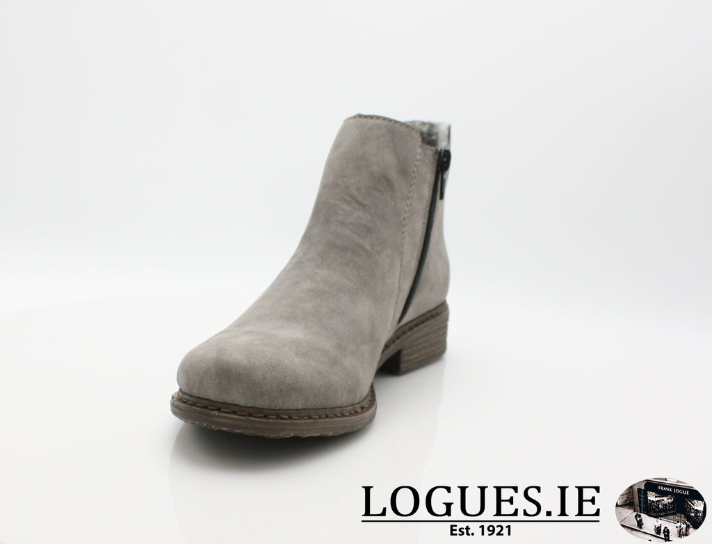 RKR Z2194LadiesLogues Shoesgrey/anthrazit 40 / 39